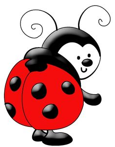 Free Ladybug Clip Art of Lady bug on ladybugs san antonio and lady bug image for your personal projects, presentations or web designs. Clipart Baby, Cute Clipart, Clip Art, Digital Stamps, Digital Papers, Digital Scrapbooking, Animal Drawings, Rock Art, Baby Quilts