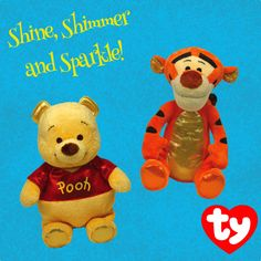 Sparkle Winnie the Pooh and Sparkle Tigger too!