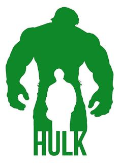 Hulk/Bruce Banner Vinyl Decal Sticker - Marvel Comics Avengers on Etsy, $10.00
