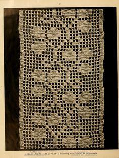 A book of bed-spreads, - Full View Filet Crochet, Crochet Motif, Knitting Patterns, Crochet Patterns, Diy Crafts Crochet, Diy Crafts Hacks, Crochet Tablecloth, Bookbinding, Bed Spreads