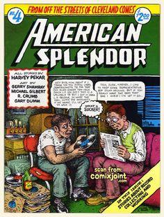 American Splendor by Robert Crumb (underground comics) Robert Crumb, Lps, Radios, Harvey Pekar, American Splendor, Comic Art, Comic Books, Alternative Comics, Vinyl Junkies