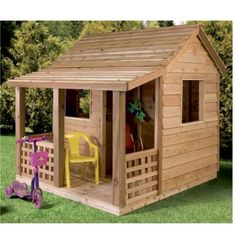 Teds Wood Working - Teds Wood Working - cabane de jardin pour enfant, un design classique en bois - Get A Lifetime Of Project Ideas Inspiration! - Get A Lifetime Of Project Ideas & Inspiration! Cedar Playhouse, Playhouse Outdoor, Playhouse Ideas, Girls Playhouse, Backyard Playhouse, Woodworking Projects Diy, Woodworking Plans, Diy Projects, Project Ideas