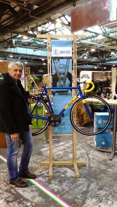 Bixxis bicycles --- Doriano De Rosa, son of Ugo De Rosa, has decided to go on his own and is creating his own brand: Bixxis.