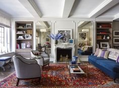 """When the actress buys a faded one-bedroom as a New York retreat, she turns to ELLE DECOR for help with her """"pied-à-teardown."""""""