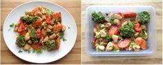 15 sunne, enkle tips til lunsj og matpakker - LINDASTUHAUG Potato Salad, Food Porn, Potatoes, Chicken, Meat, Ethnic Recipes, Potato, Cubs, Treats