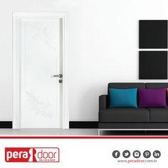 Beyazın sadeliği ve şıklığı evinize yansısın. #PeraDoor #ahşapkapı #çelikkapı #kapı #beyaz #şık #dekorasyon
