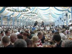 The Oktoberfest, the largest festival in the world, takes place annually from late September to the first weekend in October in Munich.