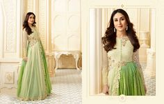 Work: Partywear Designer Georgette with Embroidery work Anarkali Suit. kameez_fabric: Georgette!! Inner_ Bottom_Fabric: Santoon!! Dupatta_fabric: Chiffon !! Dupatta_length: 2.25 Mtr !! Bust Size: Upto 42 !! Flair: 2.70 Meter !! Length: Upto 56 Stitched Type: Semstitched !! Sleeve Type: Full Sleeve !! Work: Partywear, Engagement , Wedding , Festival Contact Us: 9717276201 you can Email us for any queries: fashions.queries@gmail.com