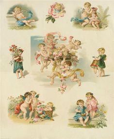 7 des Arts: beaux anges illustrations.