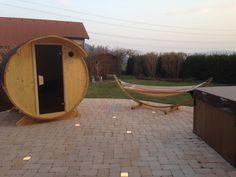 Indoor Outdoor, Outdoor Sauna, Outdoor Decor, Diy Sauna, Sauna Kits, Tub, Home Decor, Wood Furnace, Bathing