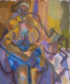 Milk Jug  50×60 cm oil painting on canvas