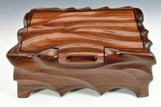 carved from Rosewood www.FineArtboxes.com