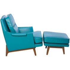 Dunbar Roger Sprunger Chair and Ottoman | From a unique collection of antique and modern lounge chairs at https://www.1stdibs.com/furniture/seating/lounge-chairs/