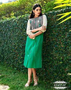 Green designed Kurti