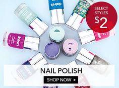 Nail Polish starting at $2!!