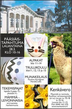 Kenkävero - Koko perheen pääsiäistapahtuma 28.3. Fictional Characters, Fantasy Characters