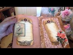 My First Junk Journal - YouTube
