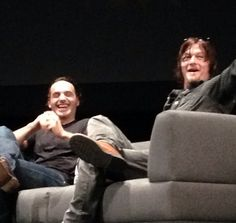 Andrew and Norman in Singapore