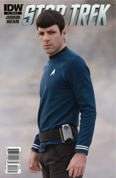 Star Trek Onoing #2 - zachary-quintos-spock Photo