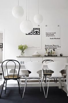 The Little Design Corner | Modern dining room ideas