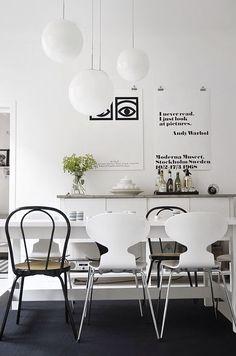 The Little Design Corner | Modern dining room ideas