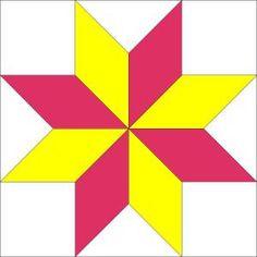 LeMoyne Star by Piecemeal Quilts