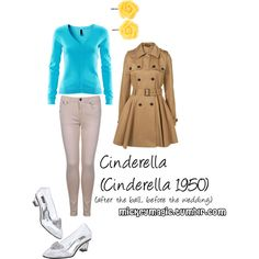 Cinderella (Cinderella 1950), created by ktizz on Polyvore