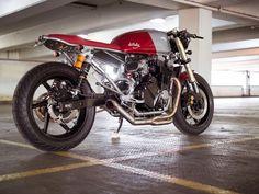 Honda CB750 Seven Fifty Cafe Racer Mk5 deBolex #motorcycles #caferacer #motos   caferacerpasion.com