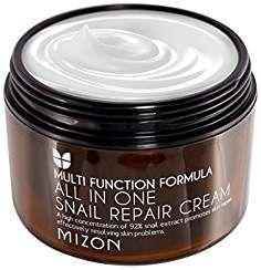 MIZON All In One Snail Repair Cream (Super Size) Facial Cream Face Skin Care Whitening Moisturizing Anti-aging Anti Wrink Cellulite Wrap, Whats In My Makeup Bag, Best Anti Aging Creams, Facial Cream, Face Skin Care, Rodan And Fields, Snail, All In One, Creme
