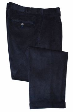6c5fe47073 Ralph Lauren Men s Classic Fit Pleated Corduroy Pants Navy 36W x 32L   LaurenRalphLauren  Corduroys