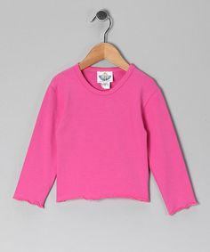 This Pink Long-Sleeve Tee - Infant & Girls is perfect! #zulilyfinds
