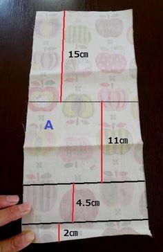 簡単に作れる♪移動ポケット♪タオルハンカチ対応サイズ!。サンケイリビング新聞社がお届けする、ママに役立つ子育て情報サイト「あんふぁんWeb」