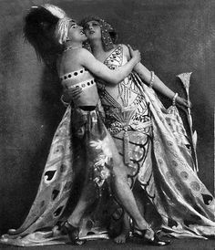 Folies Bergere 1924 costumes by Erte