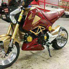 Iron Man Honda Grom Bike Baby