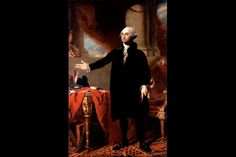 The First President of the United  States, Official White House Portrait
