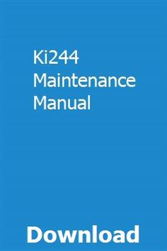 Ki244 Maintenance Manual pdf download online full Pilot Training, Portable Air Compressor, Boat Engine, Crawler Tractor, Vintage Medical, English Literature, Books To Read Online, Inspirational Books, Repair Manuals