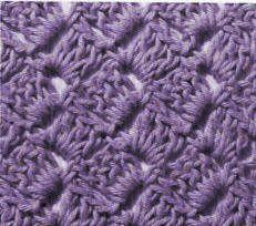 Les points de coquille au crochet - La Boutique du Tricot et des Loisirs Créatifs