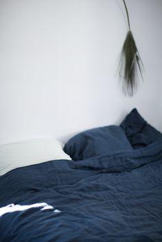 Blue bed linen (Anna gillar)