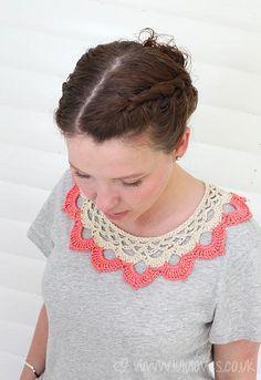 Crochet Collar | Flickr: Intercambio de fotos