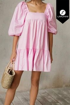 Pink Outfits, Pretty Outfits, Parisian Style, Sewing Clothes, Maternity Dresses, Types Of Fashion Styles, Spring Summer Fashion, Preppy, Wrap Dress