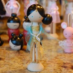Cute Clothespin Dolls | ... 56 dolls in all. It was a lot of work, but they turned out super cute