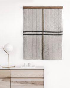 Louise Gray Little Quilt No. 3 & Little Quilt Hanger
