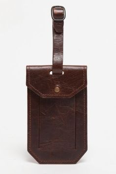 Crown Royal Leather Luggage Tag Travel ID Label For Baggage Suitcase