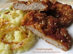 Mashed Potatoes, French Toast, Pork, Food And Drink, Cooking Recipes, Lunch, Meat, Breakfast, Ethnic Recipes