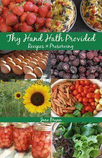 Thy Hand Hath Provided: Self-Publishing a Cookbook
