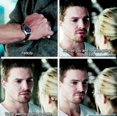 no choice #oliverqueen #feeling #good
