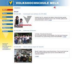 vhs.stadt-melk.at 2006 Homepage, Redaktionssystem und Kurslisten. Konzept: VHS Melk. Design: VHS Verband Pictures, Slovenia, Travel Report, Culture, Viajes