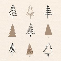 Christmas Elements Doodle Pattern Vector Premium Image By Rawpixel Com Happy New Year Christmas Tree Sketch, Cute Christmas Tree, Christmas Tree Pattern, Christmas Frames, Christmas Drawing, Christmas Signs, Merry Christmas, Christmas Decorations Drawings, Christmas Pattern Background