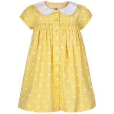 Vintage Yellow Shirt Dress by Belle Boo