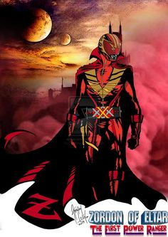 Zordon of Eltar - The 1st Power Ranger (PR 20th) by khriztian on deviantART